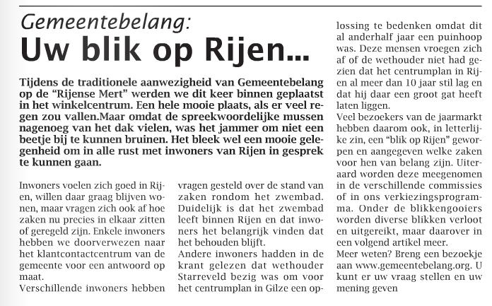 Weekblad 6 november 2013