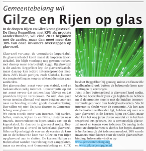 Glasvezelartikel Weekblad