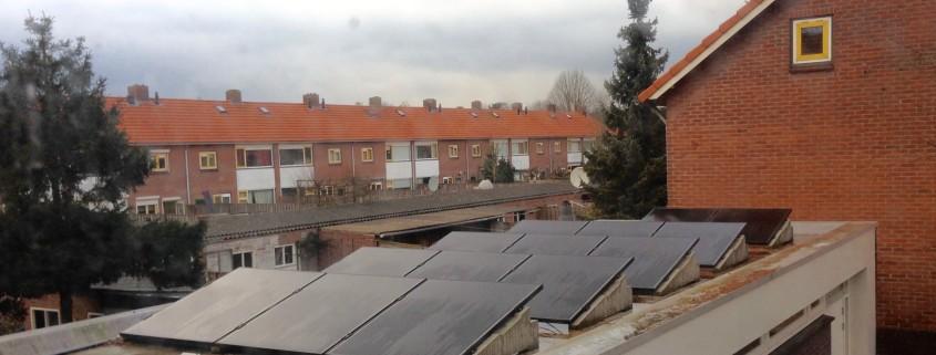 steeds meer zonnepanelen